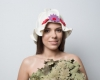 Женская шапка для бани «Дюймовочка»