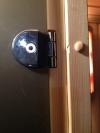 Дверь для сауны бронза Eesti Sauna 700*2000