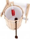 Обливное устройство из сибирского кедра с пластиковой вставкой