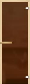 Дверь для сауны Бронза матовая 800*1900