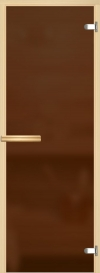 Дверь для сауны Бронза матовое  800*2000